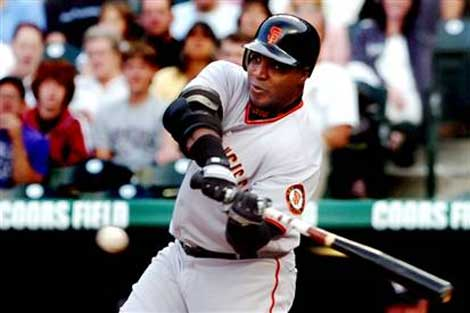 barry bonds. Barry Bonds Elbow Guard